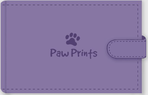 Paw Prints Photo Album (Stores 48 4'' x 6'' photos, Brag Book) ()