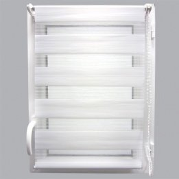 Tenda a rullo (45 x H250 cm) giorno/notte Bianco Eminza