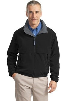 Port Authority Men's Port Authority Legacy Jacket. XXL Black/Steel Grey - Grey Steel Rain Jacket
