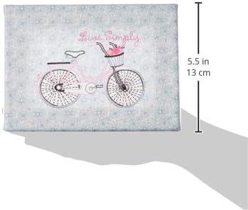 Needle Creations Emb Canvas 5x7 Bicycle