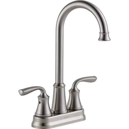 Delta 28716LF-SS Lorain Bar/Prep Sink Faucet Brilliance Stainless Steel Finish
