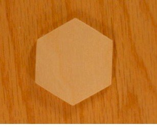 WOODNSHOP: 100pcs 4.5'' (high corner to corner) X 1/8'' inch WOODEN HEXAGON PLAIN UNFINISHED WOOD CRAFT FOR DISKS,TAGS,EARRINGS,WEDDING,PLAQUE,JEWELRY ,FAMILY BIRTHDAY CALENDAR, DIY