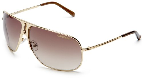 Carrera Back 80s 5 F0H Gold Back 80s 5 Aviator Sunglasses: Amazon.co ...