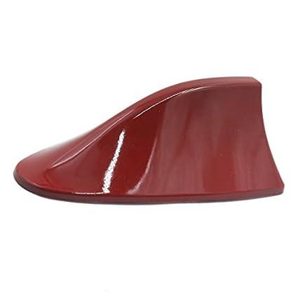 Amazon.com: eDealMax Red Auto-adhesivo de Aleta de tiburón en Forma de maniquí decorativo antena Para auto sedán de coches: Car Electronics