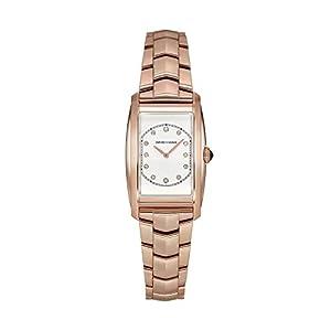 Emporio Armani Reloj Analógico para Mujer de Cuarzo con Correa en Acero Inoxidable ARS8301 9