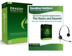 Dragon Dictate 3.0 for MAC with Training Maunual (Dragon Dictate 3 For Mac)