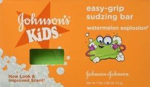 - Johnsons Buddies Easy-Grip Sudzing Bar - 2.45 oz, 10 BARS