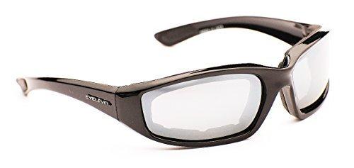 Eyelevel Men's Rider Sports Sunglasses Polycarbonate Silver Mirror Cat-3 UV400 Lenses One Size - Eyelevel Sunglasses Uk