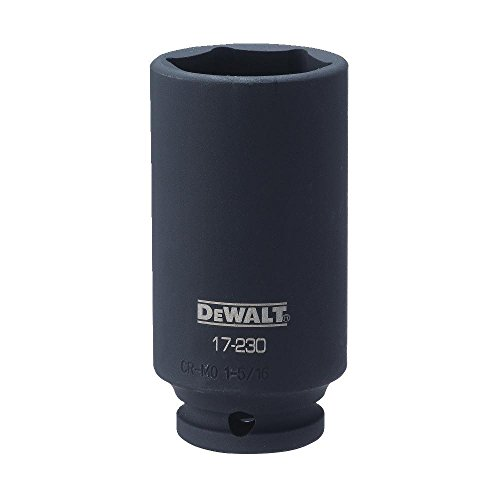 "DEWALT 1/2"" Drive Socket Deep Impact 6PT 1 5/16, used for sale  Delivered anywhere in USA"