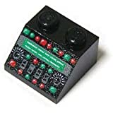 LEGOブロック・純正パーツ・スロープ>Black・45° 2x2 コントロールパネルパターン 【並行輸入品】