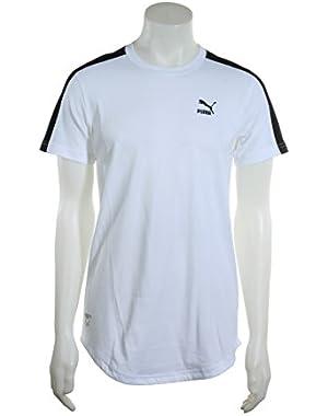 Mens Clyde Core T7 White & Black T-Shirt