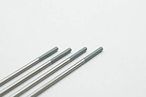 10 pieza TIG Tungsteno electrodos WC20 Gris ø1,6 X 175 mm agujas (sin torio): Amazon.es: Bricolaje y herramientas
