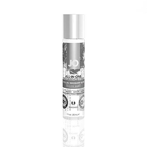 JO Massage Sensual Silicone Based Personal Lubricant - 1 oz