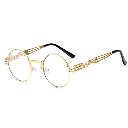 soleil soleil montures et jambes Un lunettes lunettes la métal de soleil Lunettes rondes Lunettes masculines de féminines de à soleil 6 en printemps de mode Shop de xwYqHAZY