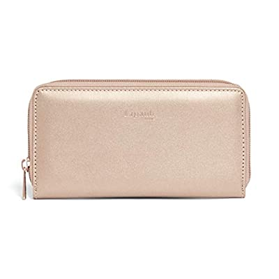 Lipault – Miss Plume Zip Around Wallet – Clutch Organizer Purse Handbag Accessories for Women