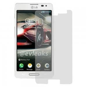 3Pcs PET Private Protective Film for LG Optimus F7 Transparent Gray