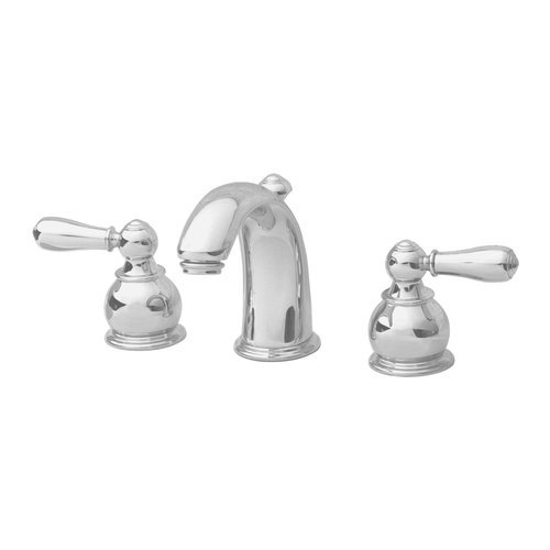 American Standard Faucet Stem (American Standard 7881.732.295 Hampton Two-Lever Handle Widespread Lavatory Faucet with Metal Speed Connect Pop Up Drain, Satin)