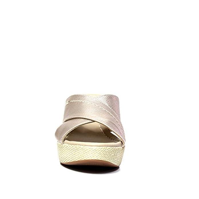 Scarpe E Borse Da Donna Sandali Nero Giardini P805660d 672 Beige Sandalo