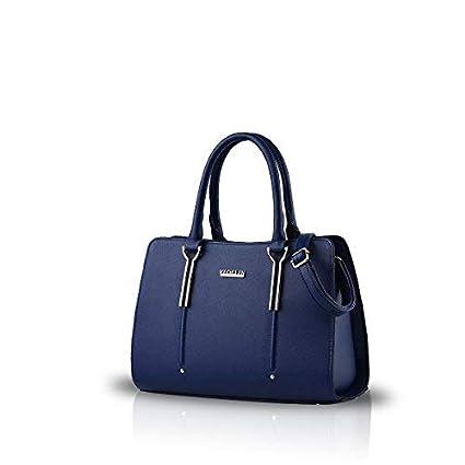 NICOLE /& DORIS Sac /à Main Femme Sac bandouli/ère Sac /épaule Nouveau Mode Bleu Marine