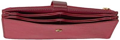 Fossil Vale Medium Tab Wallet Red Velvet Wallet