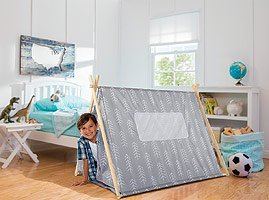 Discovery Kids A Frame Teepee Tent  sc 1 st  Amazon.com & Amazon.com: Discovery Kids A Frame Teepee Tent: Toys u0026 Games
