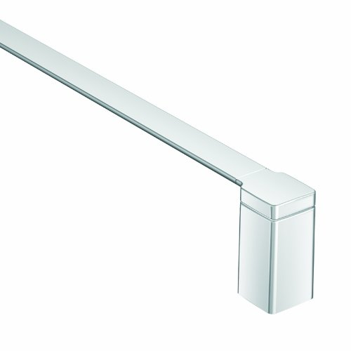 - Moen YB8824CH 90 Degree 24-Inch Bathroom Towel Bar, Chrome