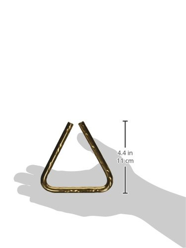 Sabian Triangles 61135-4B8H 4-Inch Hand Hammered B8 Bronze Triangle