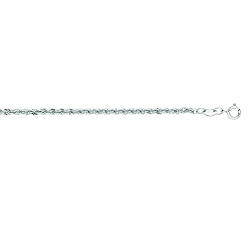 White Gold 2mm Rope - 7