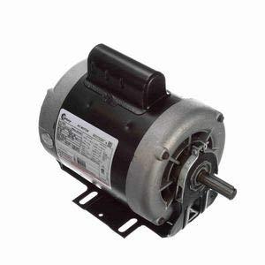 - 3/4 hp 1725 RPM 56 Frame 115/230V Belt Drive Cap Start Blower Motor Century # C691