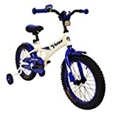 Verso by Kettler 16'' Bike with Removable Training Wheels: Falcon (Cobalt Blue), Youth Ages 4 to 7