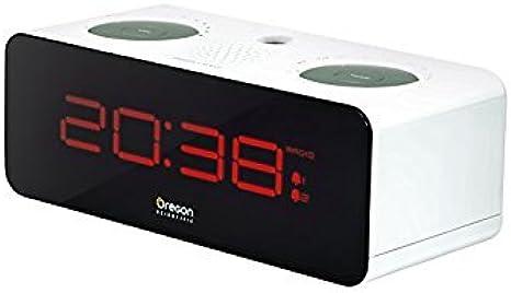 Oregon Scientific RRA320P Radio Reloj Proyector, Blanco: Amazon.es ...