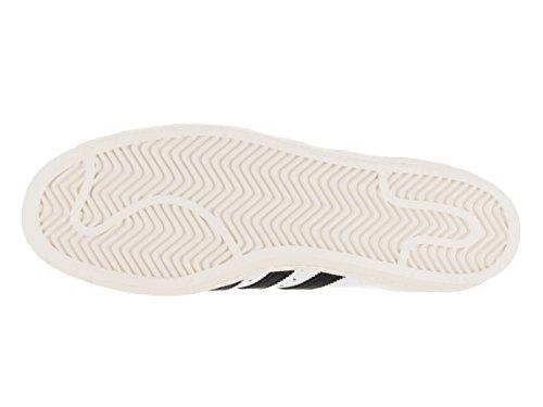 Adidas Originaler Menns Super Uformell Sneake Hvit / Svart Kritt Hvit