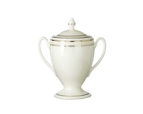 Waterford Sugar Covered Bowl - Waterford China Padova Covered Sugar