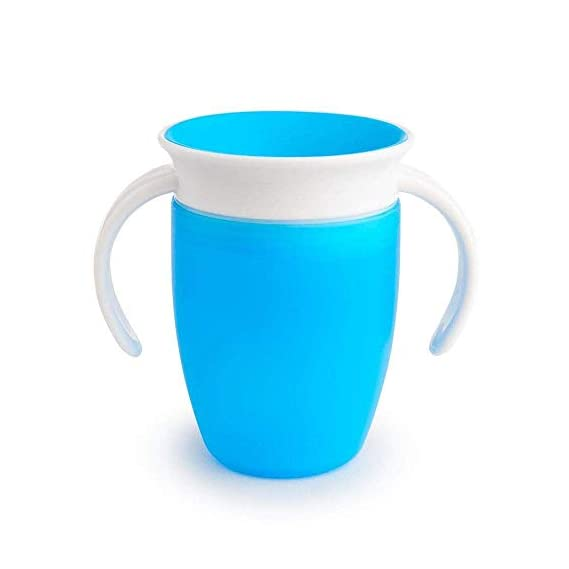 Munchkin Miracle 360 Trainer Cup (Blue, 7 Oz)- Pack of 1