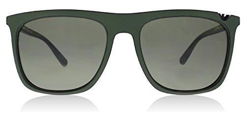 Emporio Armani EA4095 55999A Green Black EA4095 Square Sunglasses Lens - Usa Emporio Armani