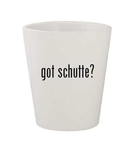 got schutte? - Ceramic White 1.5oz Shot Glass ()