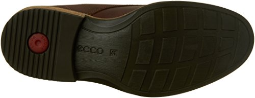 Ecco Mens Kenton Plain Toe Tie Oxford Visone / Moka
