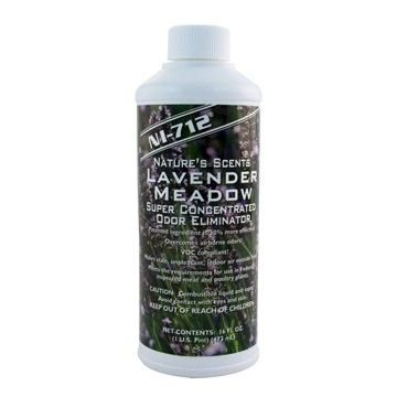 NI-712 Odor Eliminator, Lavender Meadow, 1 Pint