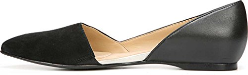 Naturalizer Women's Samantha D'Orsay Shoe,Black Leather,US 10 W by Naturalizer (Image #2)