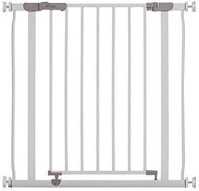 Dreambaby® Ava Slimline - Barrera de Seguridad Extra Estrecha 61-68cm - Instalación a Presión. Adecuada para Puertas, Pasillos y Escaleras (Color: Blanco): Amazon.es: Bebé