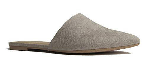 J. Adams Lennox Slip Ons - Comfortable Pointed Closed Toe Flat Loafer Mules