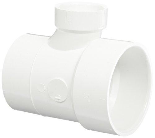(Spears P404 Series PVC DWV Pipe Fitting, Reducing Sanitary Tee, 3