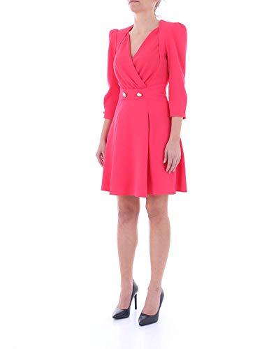 Bouganville Ab688 Mujer 91e2 Vestido Elisabetta Franchi XfTwgg