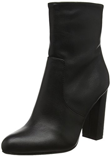 Boot Black Leather 017 Noir Steve Bottines Editor Ankle Femme Madden 6wzt0qO1