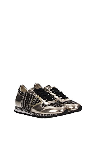 SRLDBS04 Philippe Model Sneakers Mujer Piel Negro Negro