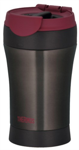 THERMOS MOTION JND-290-BK Black | Thermal Stainless Portable Tumbler 0.29 liter (9.8 oz.) (Japanese Import) by Thermos