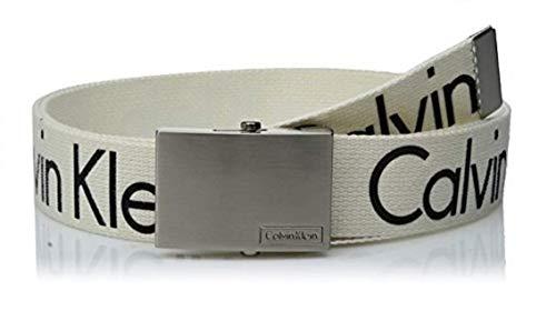 Calvin Klein Men's 38mm Printed Web Belt