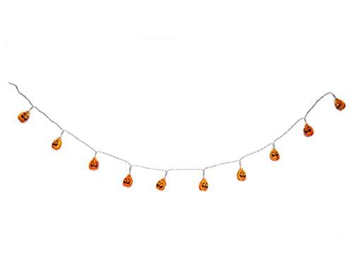 Ganz Halloween Light Up Jack O Lantern Garland -