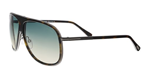 Tom Ford Chris TF 462 56P Havana Plastic Sunglasses