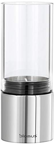 Blomus Tealight Holder Wide Polished, Clear